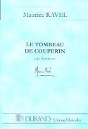 Le Tombeau de Couperin - Conducteur Maurice Ravel laflutedepan.com
