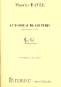 Le Tombeau de Couperin Maurice Ravel Partition laflutedepan.com