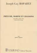 Prélude, Marine et Chansons –Parties - laflutedepan.com