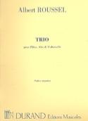 Trio op. 40 - Flûte, alto et cello -Parties laflutedepan.com