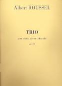 Trio op. 58 – Parties Albert Roussel Partition laflutedepan.com
