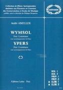 Wymsol / Ypers André Ameller Partition Contrebasse - laflutedepan.com