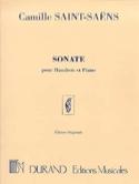 Sonate Op. 166 Camille Saint-Saëns Partition laflutedepan.com