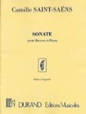 Sonate, Opus 168 - Camille Saint-Saëns - Partition - laflutedepan.com