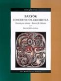 Concerto pour orchestre - Score Béla Bartok Partition laflutedepan.com