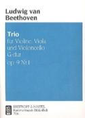 Trio op. 9 n° 1 G Dur –Stimmen Ludwig van Beethoven laflutedepan.com