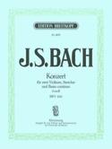 Konzert d-moll BWV 1043 –2 Violinen Klavier - laflutedepan.com