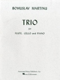 Trio – Flute, cello and piano - Bohuslav Martinu - laflutedepan.com