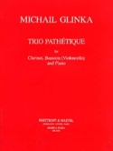 Trio Pathétique - Clarinet, Bassoon cello piano laflutedepan.com