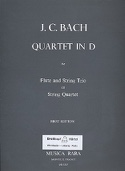 Quartet in D major – Flute string trio (String quartet) - Parts laflutedepan.com