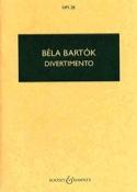 Divertimento - Conducteur BARTOK Partition laflutedepan.com