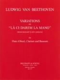 Variations on La ci darem la mano - Flute clarinet bassoon laflutedepan.com