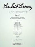 Concertino Contrebasse op. 45 n° 11 Lars-Erik Larsson laflutedepan.com