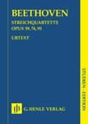 Quatuors à cordes op. 59, 74, 95 BEETHOVEN Partition laflutedepan.com