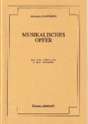Musikalisches Opfer -Conducteur + parties laflutedepan.com