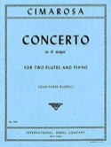 Concerto in G major – 2 Flutes piano - laflutedepan.com