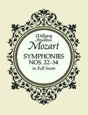 Symphonies N° 22-34 - Full Score - laflutedepan.com