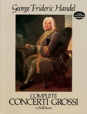 Complete Concerti Grossi - Full Score HAENDEL Partition laflutedepan