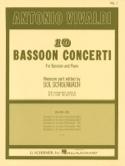 10 Bassoon Concerti - Volume 1 VIVALDI Partition laflutedepan.com