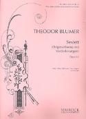 Sextett op. 45 – Flöte Oboe Klar. Horn Fag. Klavier - laflutedepan.com