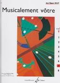 Musicalement Vôtre Volume 7 Jean-Clément Jollet laflutedepan.com