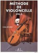 Méthode de Violoncelle Volume 2 Odile Bourin laflutedepan.com