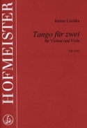 Tango für zwei Rainer Lischka Partition Duos - laflutedepan.com