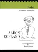 Sextet - String quartet clarinet piano Aaron Copland laflutedepan.com