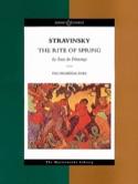 Le Sacre du Printemps - Score Igor Stravinsky laflutedepan.com