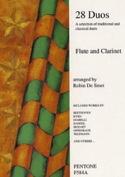 28 Duos – Flute clarinet - Partition - Duos - laflutedepan.com