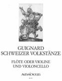Schweizer Volkstänze Eric Guignard Partition Duos - laflutedepan.com
