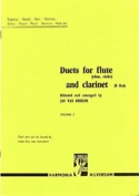 Duets for flute and clarinet - Volume 2 Partition laflutedepan.com
