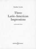 3 Latin-american impressions Gordon Lewin Partition laflutedepan.com