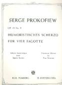 Humoristisches Scherzo op. 12 n° 9 –4 Fagotte - laflutedepan.com