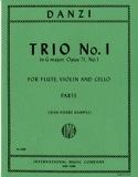 Trio n° 1 in G major op. 71 -Flute violin cello - Parts laflutedepan.com