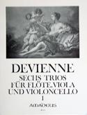6 Trios Bd. 1 - Flöte Viola Violoncello - Stimmen laflutedepan.com