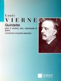 Quintette op. 42 Louis Vierne Partition Quintettes - laflutedepan.com