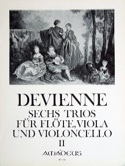 6 Trios Bd. 2 -Flöte Viola Violoncello - Stimmen laflutedepan.com
