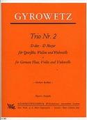 Trio Nr. 2 D-Dur -Stimmen Adalbert Gyrowetz laflutedepan.com