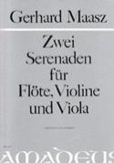2 Serenaden -Flöte Violine Viola - Partitur + Stimmen laflutedepan.com