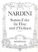 Sonata F-Dur -Flöte 2 Violinen - Stimmen laflutedepan.com