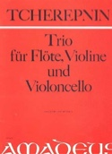 Trio -Flöte Violine Violoncello - Partitur + Stimmen laflutedepan.com