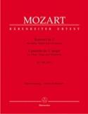 Konzert C-Dur KV 299 -Flöte Harfe Klavier MOZART laflutedepan.com