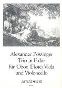 Trio in F-Dur -Oboe Flöte Viola Violoncello laflutedepan.com