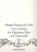 Trio in D-Dur -Klarinette Viola Violoncello laflutedepan.com