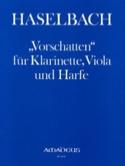 Vorschatten - Klarinette Viola Harfe Josef Haselbach laflutedepan.com
