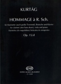 Hommage A R. Sch. op. 15/d - György Kurtag - laflutedepan.com