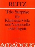 Trio Surprise -Klarinette Viola VIoloncello Fagott - Partitur + Stimmen laflutedepan.com