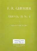 Trio op. 33 n° 3 -Bassoon Violin Cello - Score + Parts laflutedepan.com