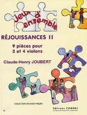 Réjouissances 2 Claude-Henry Joubert Partition laflutedepan.com